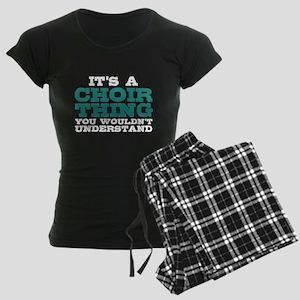 It's a Choir Thing Women's Dark Pajamas