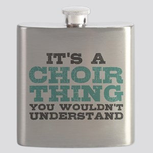 It's a Choir Thing Flask
