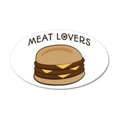 Meat Lovers Wall Decal