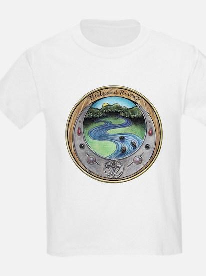 Hills and Rivers logo T-Shirt