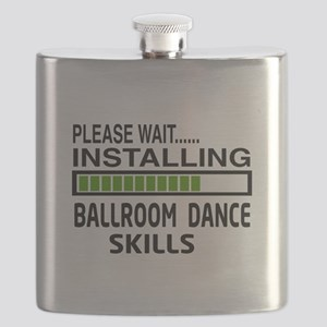 Please wait, Installing Ballroom dance skill Flask