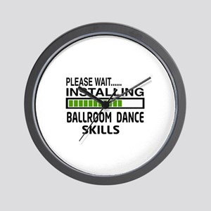 Please wait, Installing Ballroom dance Wall Clock