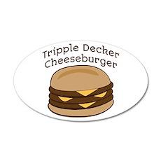 Tripple Decker Burger Wall Decal