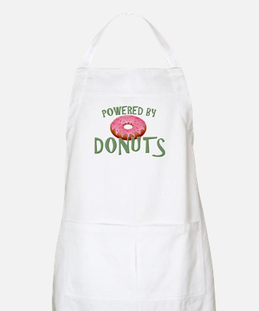 Powered By Donuts Apron