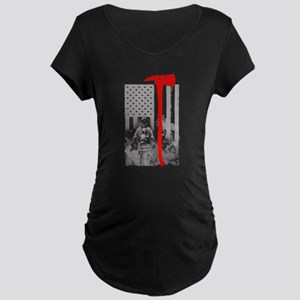 Firefighter Maternity T-Shirt