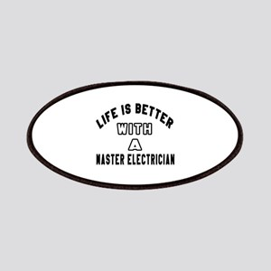 Master Electrician Designs Patch