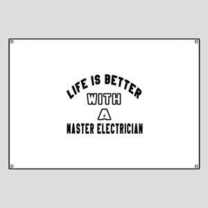 Master Electrician Designs Banner