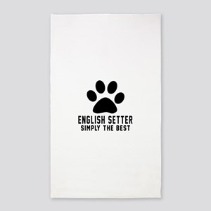 English Setter Simply The Best Area Rug