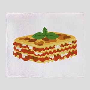 Lasagna Throw Blanket