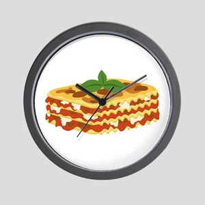 Lasagna Wall Clock