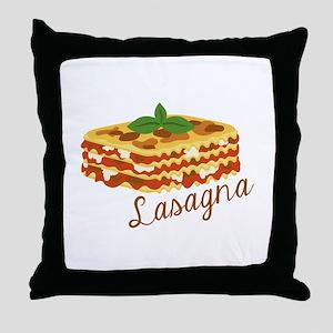 Lasagna Pasta Throw Pillow