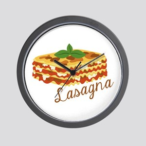 Lasagna Pasta Wall Clock