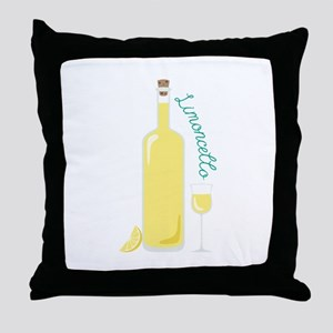 Limon Cello Drink Throw Pillow