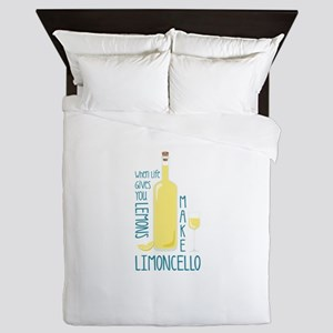 Make Limoncello Queen Duvet