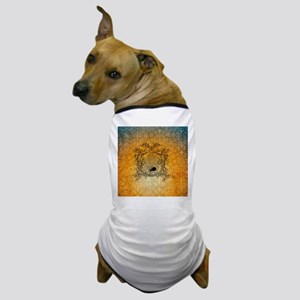 The spider in the web Dog T-Shirt