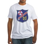 USS CONY Fitted T-Shirt