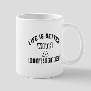 Locomotive Superintendent Designs Mug