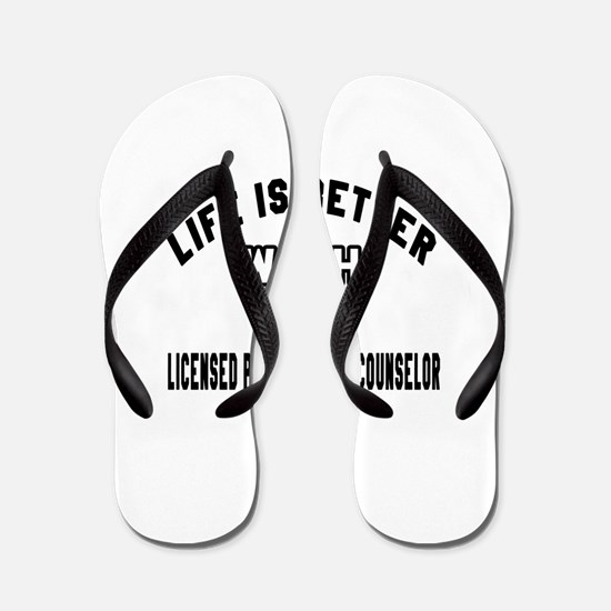 Licensed Professional Counselor Designs Flip Flops