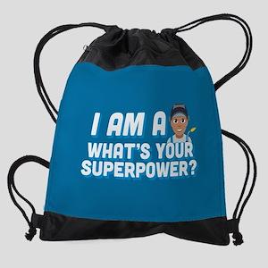 Emoji Welder Superpower Drawstring Bag