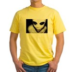 Alien Grey Yellow T-Shirt