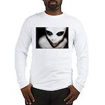 Alien Grey Long Sleeve T-Shirt