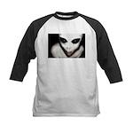Alien Grey Kids Baseball Jersey