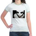 Alien Grey Jr. Ringer T-Shirt
