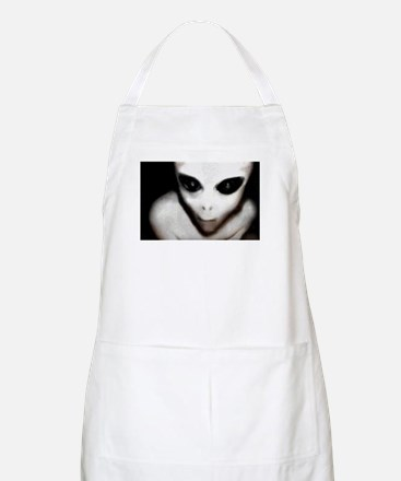 Alien Grey BBQ Apron