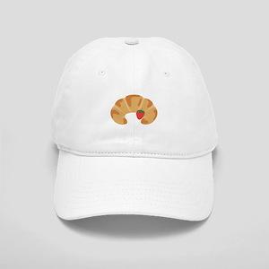 Strawberry Croissant Baseball Cap