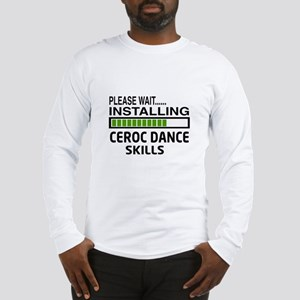 Please wait, Installing Ceroc Long Sleeve T-Shirt