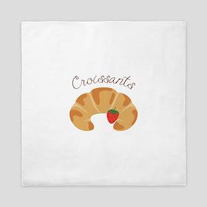 Croissants Queen Duvet
