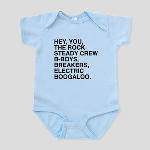 Hey, you, the Rock Steady Crew B-boys, b Body Suit