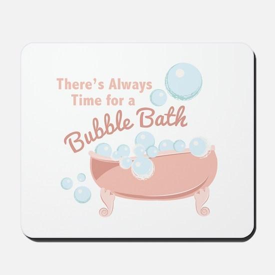 A Bubble Bath Mousepad