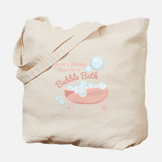 A Bubble Bath Tote Bag