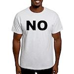 No. Well, Maybe. Light T-Shirt