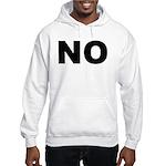 No. Well, Maybe. Hooded Sweatshirt