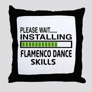 Please wait, Installing Flamenco danc Throw Pillow