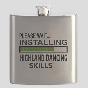 Please wait, Installing Highland dance skill Flask
