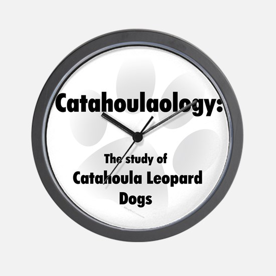 Catahoulaology Wall Clock