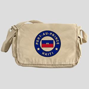 Port-au-Prince Haiti Messenger Bag
