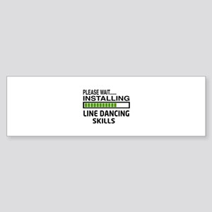 Please wait, Installing Line danc Sticker (Bumper)