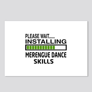 Please wait, Installing M Postcards (Package of 8)