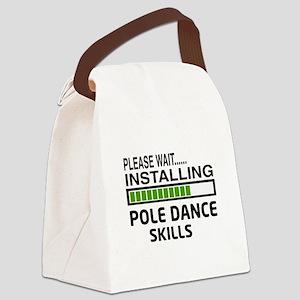 Please wait, Installing Pole danc Canvas Lunch Bag