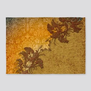 A touch of vintage 5'x7'Area Rug