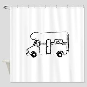 Wohnmobil Shower Curtain