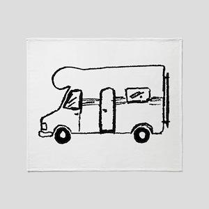 Wohnmobil Throw Blanket