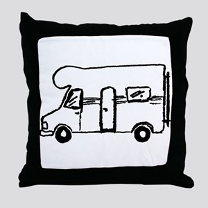 Wohnmobil Throw Pillow