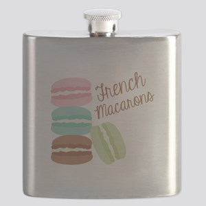 French Macaroons Flask
