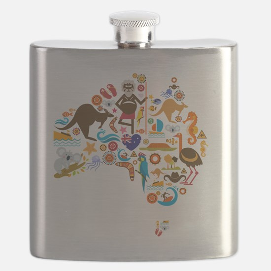 Unique Aussie Flask