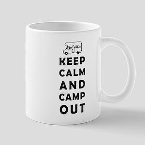 Keep calm camping Mugs